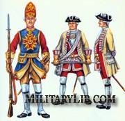 Саксонская армия Августа Сильного