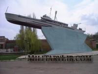 Памятник Донскому Отряду Азовской Военной флотилии. г. Азов