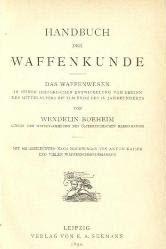 Handbuch Der Waffenkunde: Das Waffenwesen