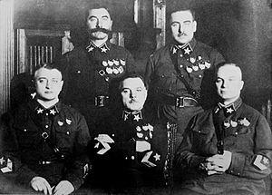 Миф о «обезглавливании армии» Сталиным