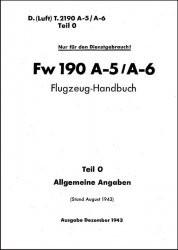 Fw-190 A-5 A-6 Flugzeug-Handbuch Teil 0 Allgemeine Angaben