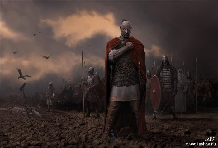 Воспитание воинов на Руси