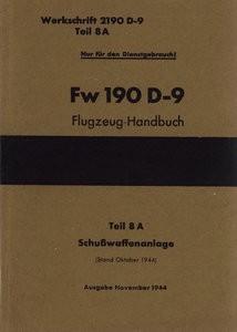 Fw-190 D-9 Tei 8A Schusswaffen