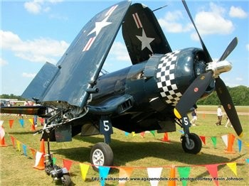 F4U-5 Corsair Walk Around